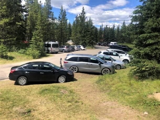 Castle Junction parking lot