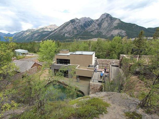 Cave and Basin Banff National Park birthplace Dave Bloggs 007