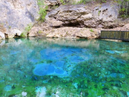 Banff cave and basin Canadian signature travel