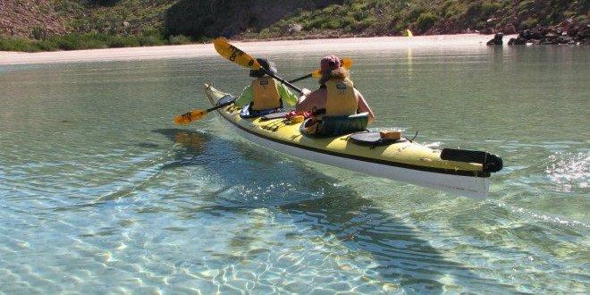 Sea kayaking Mexico