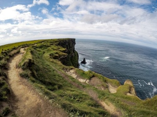 Cliffs of Moher panorama
