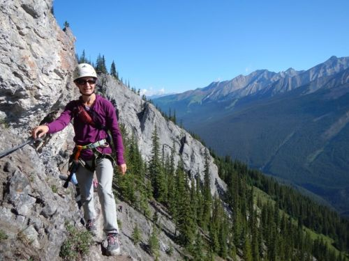 Mt Norquay via ferrata Canadian signature travel experience