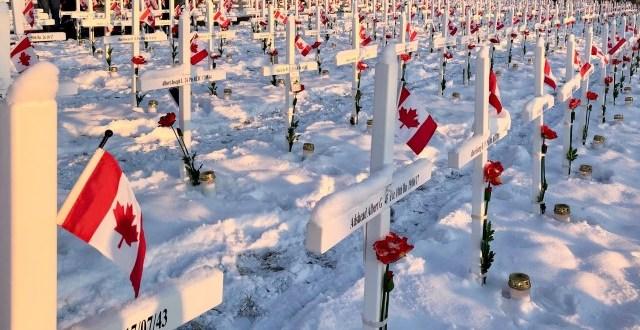 Field of Crosses Calgary