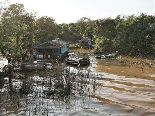 Floating Village Tonle Sap Cambodia