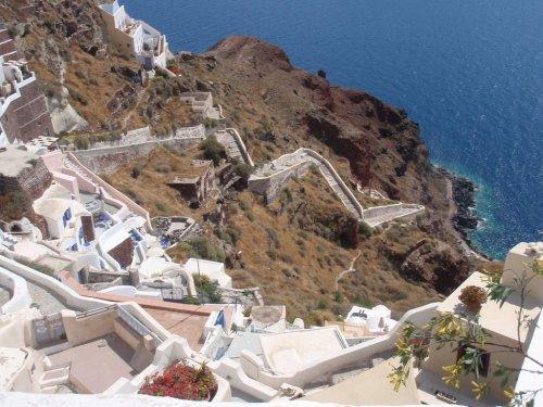 Stairs Oia Santorini