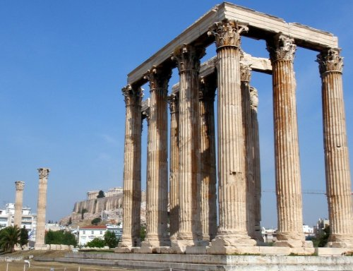 Temple of Zeus and Acropolis