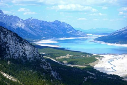 Helicopter tour Alberta Rockies