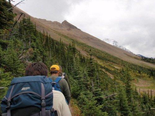 Hiking the Burgess Shale