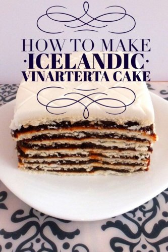 Icelandic Cake Vinarterta