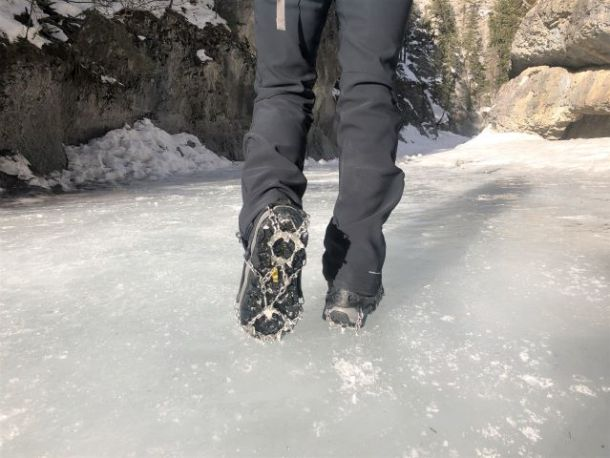 Icers for Grotto Canyon Ice walk