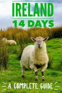 Ireland 14 Day Ireland itinerary. Complete Ireland travel guide including where to stay in Ireland, best Irish food and hidden gems in Ireland. Click to learn more about this completely tried and tested 2 week Irish #travel plan.#Irelandtravel #Irelandtraveltips #travelitinerary #travelguide #traveltips #Ireland #itinerary