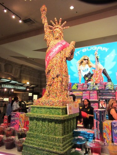 Vegas Statue of Liberty