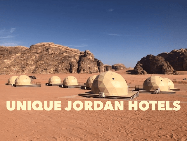 Unique Jordan Hotels - A Jordan Trip Guide • Travel Tales of Life