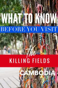 What to know before visiting Cambodia Killing Fields. Click to learn 10 tragic facts you may not know about the brutal Khmer Rouge, s 21 prison in Phnom Penh now the Tuol Sleng Genocied Museum and the nearby Choeung Ek Memorial Park at the killing field outside of Phnom Penh #Cambodia. # travel