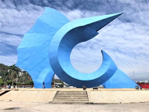 Manzanillo Sailfish statue