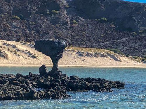 Mushroom Rock Balandra Beach