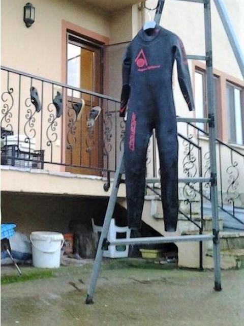 Open water swim wetsuit