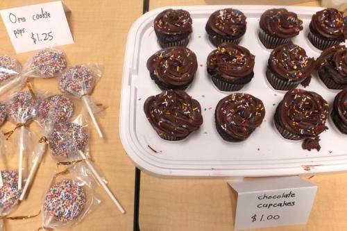 Oreo cookie pops chocolate cupcakes