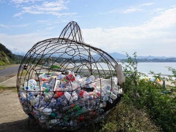 PETZ recycling fish Manzanillo