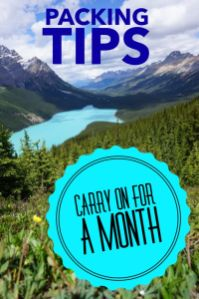 Wishing you could travel light but just don't know how to pack? Click to learn packing hacks, packing tips and best carry on bag so you can pack carry on for a month or more #traveltips #packing #packingtips #packinglight