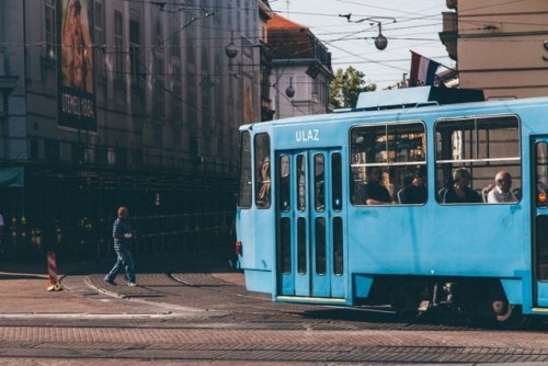 Public transport responsible travel