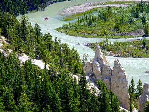 Rafting Bow River Banff Alberta
