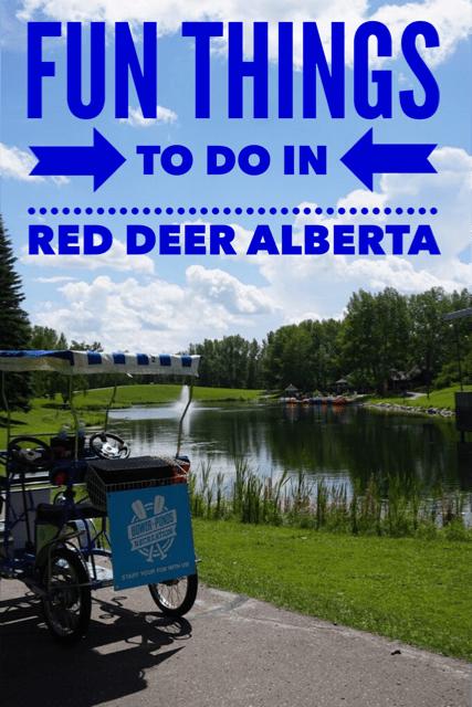 Fun Things to do in Red Deer Alberta