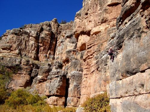 Rocck climber to film star