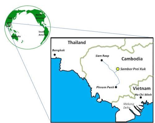 Sambor Prei Kuk map