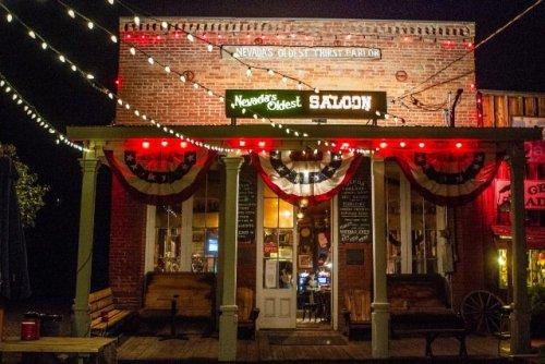 Nevada oldest saloon Genoa Bar