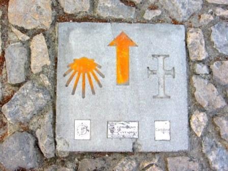 El Camino marker