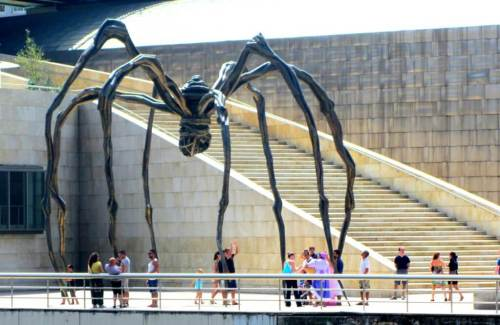 giant spider art