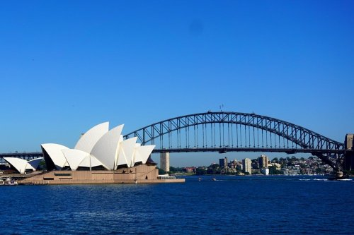 Sydney Australia Opera house and Bridge