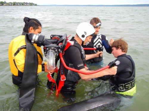 Sylvan Lake water jetpack