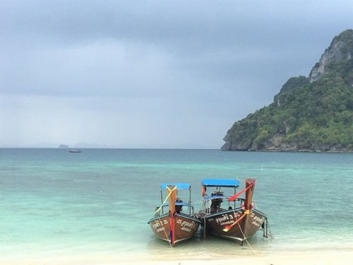 Thailand Long Tail Boat