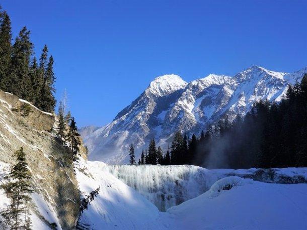 Winter nature quotes ice falls