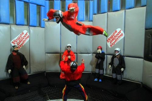 Indoor skydiving attraction Las Vegas