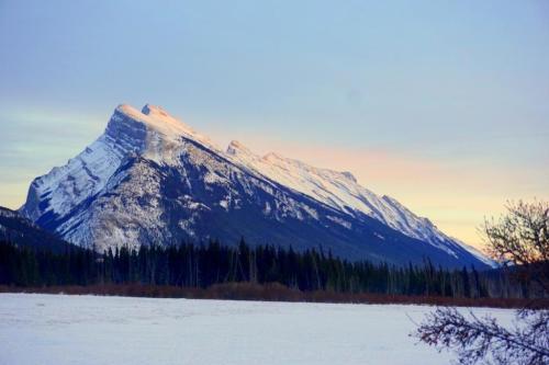 Vermilion Lakes Banff Sunset