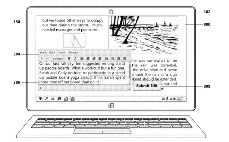 براءة اختراع من مايكروسوفت حول نظام إنشاء مذكرات السفر الآلي