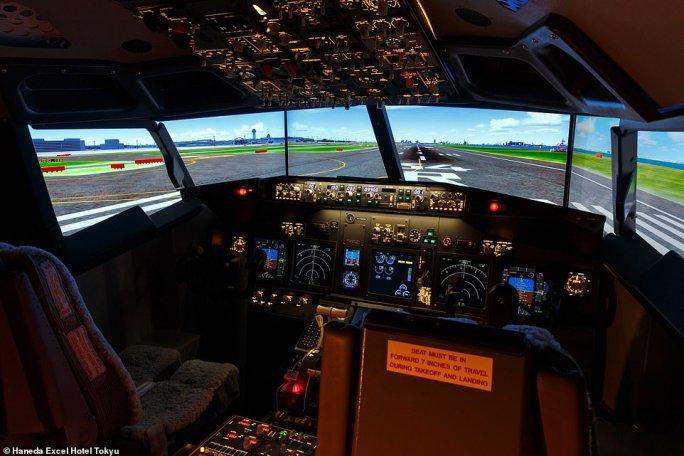 فندق في اليابان يفتتح غرفة للمحاكاة تقدم تجربة طيران كاملة 1