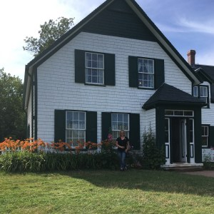 Me Standing in Front of the Green Gables House