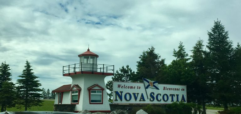 Welcome to Nova Scotia Sign