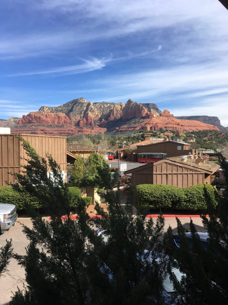 Red Rock Views from the Orchards Inn