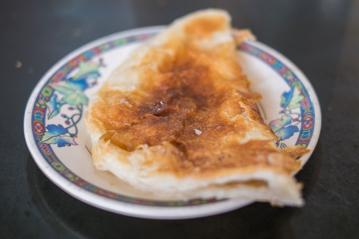 Meetha paratha in Bangladesh where it's sometimes a breakfast treat.