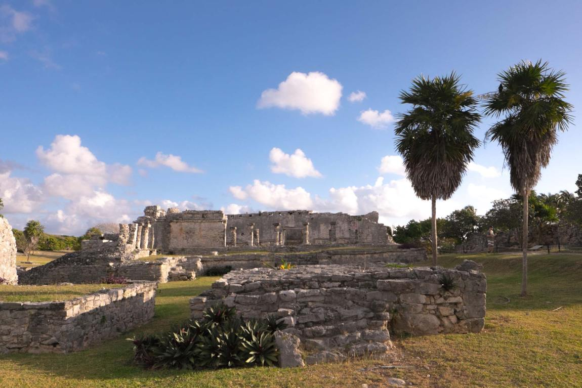 The Mayan ruins at Tulum, Mexico