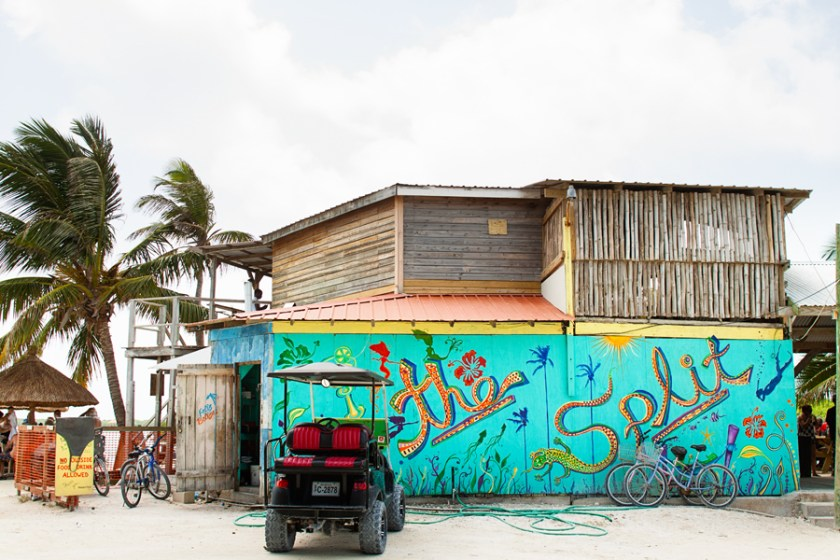 The Split, Caye Caulker Belize