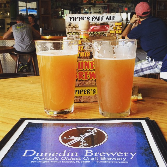 Apricot Peach Ales at Dunedin Brewery - Dunedin, FL