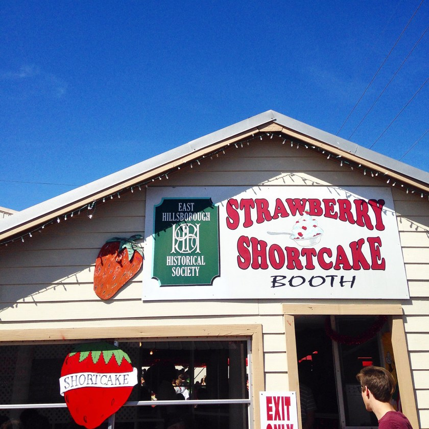 Strawberry Shortcake Booth at the FL Strawberry Festival - a must visit if you're in Central Florida in March!