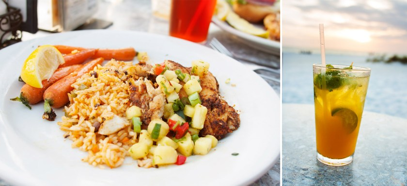 Eat, drink, and watch the sunset on the sand at Sandbar Restaurant in Anna Maria, FL