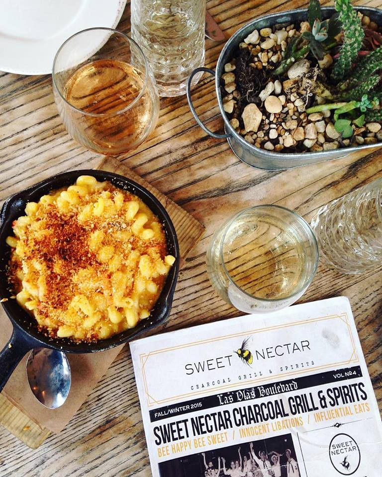 Lobster Mac & Cheese at Sweet Nectar in Ft. Lauderdale, FL